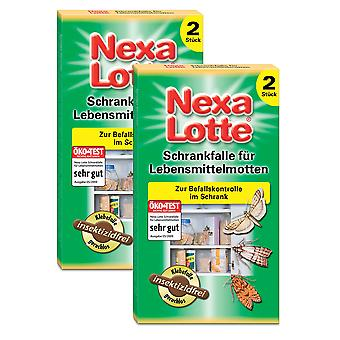 Sparset: 2 x NEXA LOTTE® cupboard trap for food moths, 2 pieces
