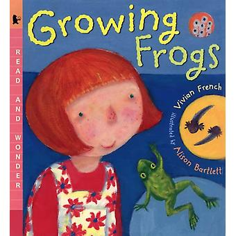 Growing Frogs by Vivian French & Illustrated by Alison Bartlett