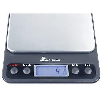 On Balance OB-3000 3kg Digital Table Top Scale