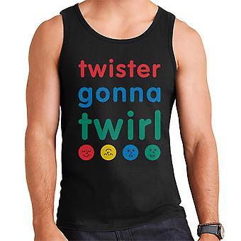 Twister Gonna Twirl Men's Vest