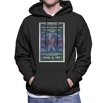 DJ International Kings Of House '86 Poster Men's Hooded Sweatshirt