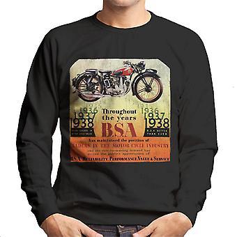 BSA Door de jaren heen Men's Sweatshirt