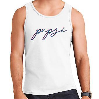 Pepsi Retro Written Logo Men's Vest