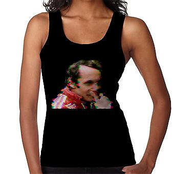 Motorsport Images Niki Lauda German GP 1976 Glitch Effect Women's Vest