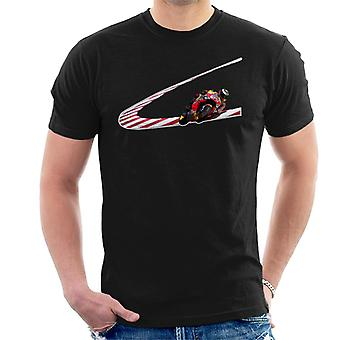 Motorsport Images Jorge Lorenzo Low Turn Hommes-apos;s T-Shirt