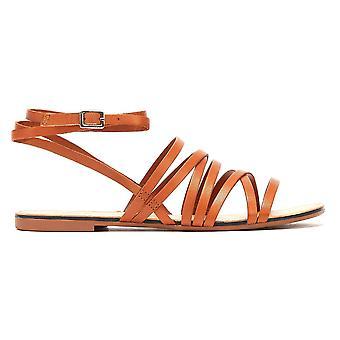 Vagabond Tia Multi Strap Womens Brown Sandals