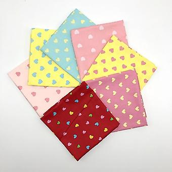 Printed Handkerchief Towels With Hundreds Of Random Colors And Many Uses