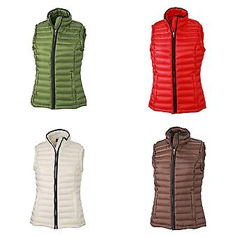 James and Nicholson Womens/Ladies Quilted Down Vest