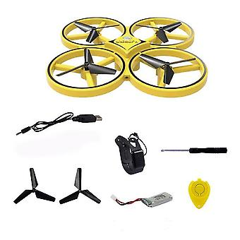Mini Infrared Induction Hand Control Drone Quadcopter Toy for Kids