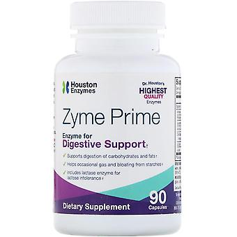 Houston Enzymes, Zyme Prime, 90 Capsules