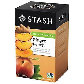 Stash Ginger Peach Thé vert & Matcha