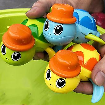 Cute Cartoon Animal, Tortoise Classic Water Toys For Baby - Kids Beach Bath Toy