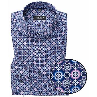 Eterna Mode Eterna Circle Print Formal Shirt