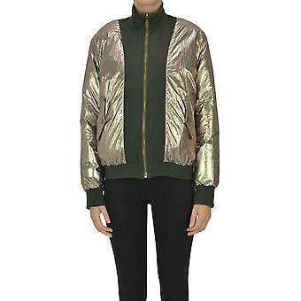 Soeur Ezgl563003 Women's Bronze Nylon Outerwear Jacket