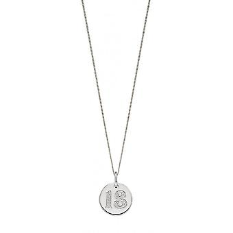 Joshua James Silver & Cz 18 Disc Pendant
