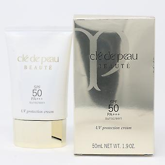 Cle De Peau Beaute Uv Protection Cream Spf 50 Pa+++ Sunscreen 1.9oz  New WithBox