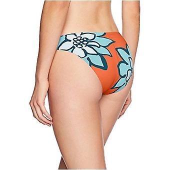 Bikini Lab Naiset's Hipster Bikini Uimapuku Pohja, Sienna //Desert Terälehdet, Ext ...