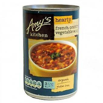 Amys - pays Français copieuse soupe aux légumes