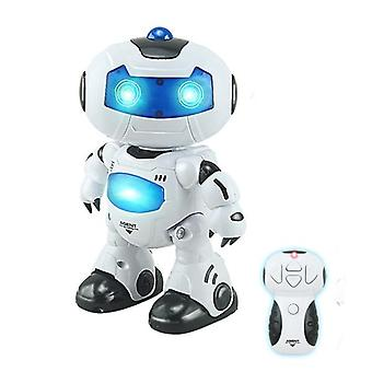 Elektrisk intelligent robot fjernstyret Rc Play Musik Dancing Light Robot