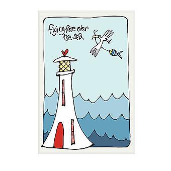 Gallery Thea Tea Towel, Flying Free