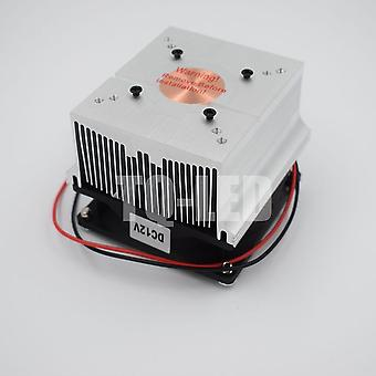 12v Aluminum Heatsink With Fan 20w 30w 50w 60w 100w