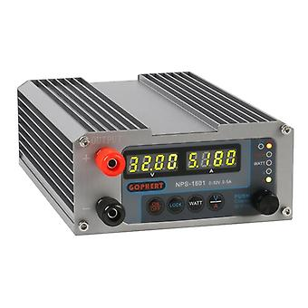 ny versjon laboratorium diy justerbar digital mini bryter dc strømforsyning watt med lås funksjon