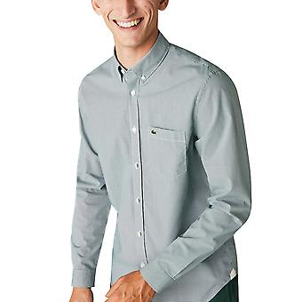 Lacoste Men's Cotton Poplin Shirt Regular Fit