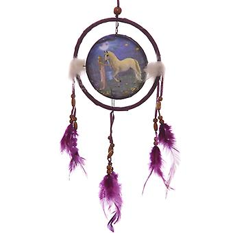 Decorative Fantasy Unicorn Garden 16cm Dreamcatcher X 1 Pack