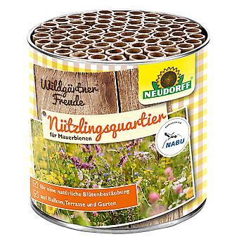 NEUDORFF Wildgardener®Freude Nützlingsquartier for Wall Bees, 1 piece