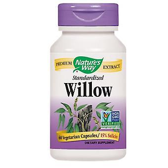Nature's Way White Willow Bark, 60 caps