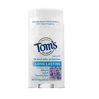 Tom's Of Maine Deodorant Stick, Long Lasting Lavender 2.25 oz
