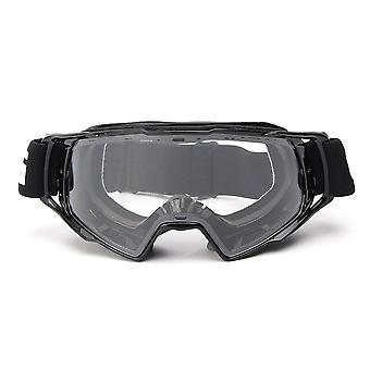 Motocross Off-Road ATV Bike Helmet Eyewear Anti-UV Clear Motorcycle Goggles
