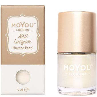 MoYou London Stamping Nail Laque - Havana Pearl 9ml (mn139)