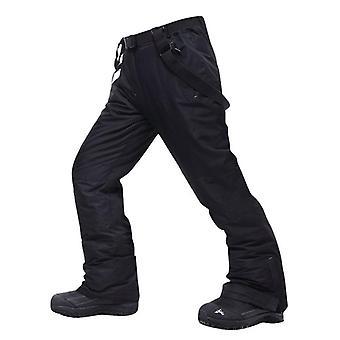 Velké lyžařské kalhoty, větruodolné vodotěsné teplé sněhové kalhoty