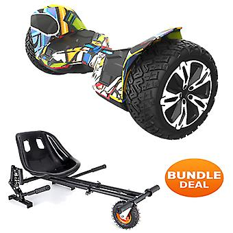 """8,5""""G2 PRO All Terrain Bluetooth Segway Hoverboard & Kart"""