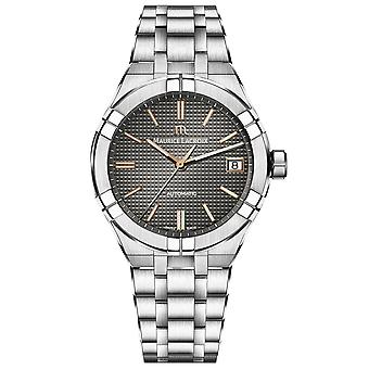Maurice Lacroix Aikon Automatic Black Dial Silver Stainless Steel Bracelet Men's Watch AI6007-SS002-331-1