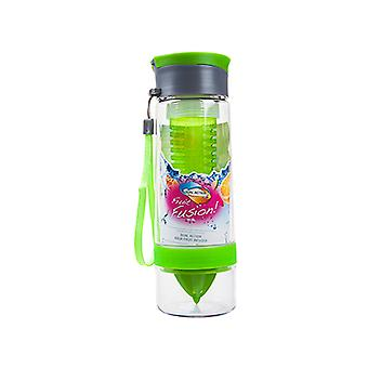 Summit MyBento Dual Infuser System Leakproof Lid 750ml - 1 Unit Green Bottle