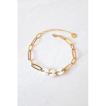 Oval Link Chain Ankle Bracelet