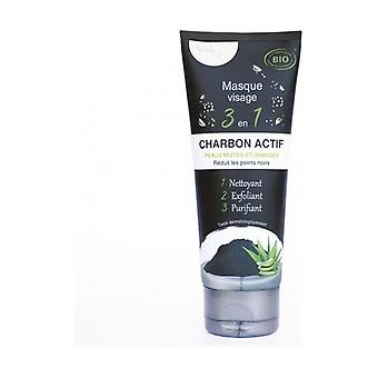 Face mask / charcoal 100 ml of cream