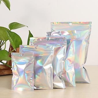 Pouches Cosmetic Plastic Laser Iridescent Bags Holographic Makeup Bags Hologram