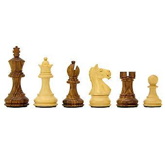 Heftige Ritter Sheesham Staunton Schachfiguren 3 Zoll inklusive Koffer