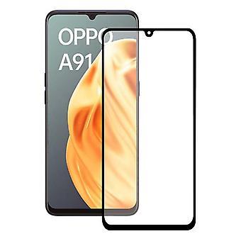 Ochraniacz ekranu ze szkła hartowanego Oppo A91 KSIX Pełny klej 2.5D