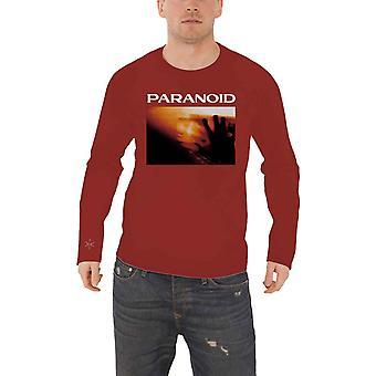 أحضر لي الأفق تي قميص بجنون العظمة شعار الفرقة الرسمية الجديدة الرجال الأحمر