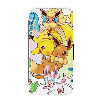 Pokemon Pikachu & Eevee iPhone 12 Mini Wallet Case