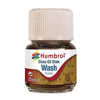 Humbrol av0209 28ml enamel wash (oil stain)