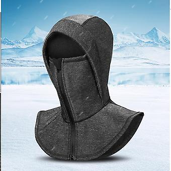 Windproof Skiing Running Cap, Thermal Fleece Snowboarding Cycling Neck Warm