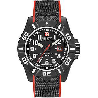 Reloj masculino Hanowa Militar Suizo 06-4309.17.007.04, Cuarzo, 44mm, 10ATM