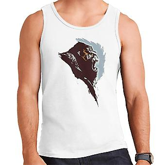 King Kong Rage Side View Brush Stroke Men's Vest