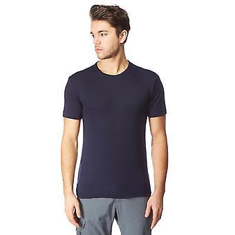 Neue Peter Storm Men's Short Sleeve Thermal Crew Baselayer Top Blue