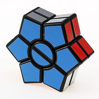 Kaksikerroksinen 3x3x3 Neliö Kuusikulmainen Nopeus Magic Cube Twist Puzzle